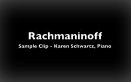 Rachmaninoff Concerto #2<br />Allegro scherzando